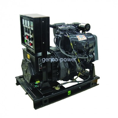 small genset with 2 cylinders engine
